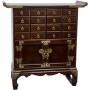 Oriental Furniture Korean 16 Drawer Medicine Chest