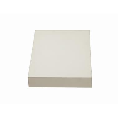DecoLav Cameron Quartz 15'' Single Bathroom Vanity Top; White