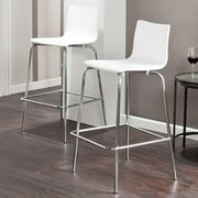 Holly & Martin Holly & Martin 29.25'' Bar Stool (Set of 2); White