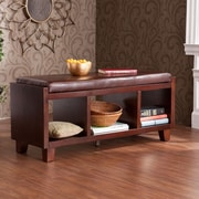 Wildon Home   Remmington Wood Storage Entryway Bench