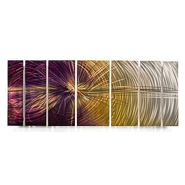 All My Walls 'Abstract' by Ash Carl Designs 7 Piece Graphic Art Plaque Set