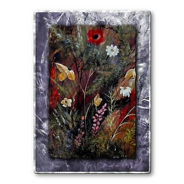 All My Walls 'Sweet Inspiration' by Ruth Palmer Painting Print Plaque