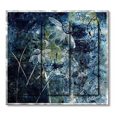 All My Walls 'Blue Beauties' by Ruth Palmer Painting Print Plaque