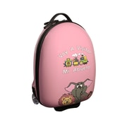 Mercury Luggage ''Voy A Visitar Mi Abuela'' Animals Children's Luggage; Pink