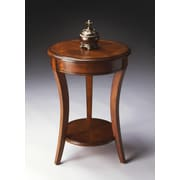 Butler Masterpiece 18'' Accent Table in Distressed Olive Ash Burl