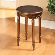 Accent Treasures End Table; Gold
