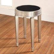 Accent Treasures End Table; Silver
