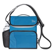 Travelon Anti-Theft React Small Messenger Bag; Aqua