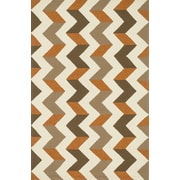 Dann Foley Palm Springs Brown/Orange Indoor/Outdoor Area Rug; 2'3'' x 3'9''