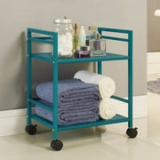 Altra Marshall Mini Serving Cart; Teal