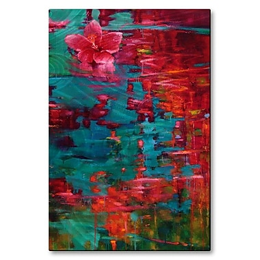 All My Walls 'Echo of Summer' by Donna Young Painting Print Plaque
