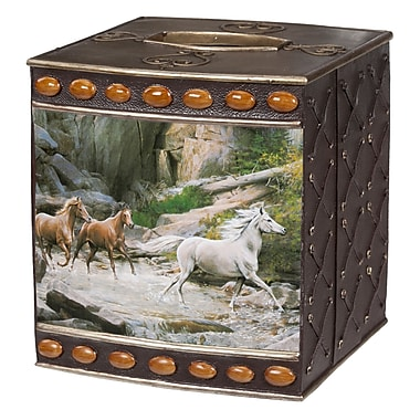 Creative Bath Horse Canyon Tissue Box Cover