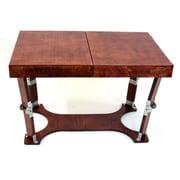 Spiderlegs Portable Folding Coffee Table; Red Mahogany