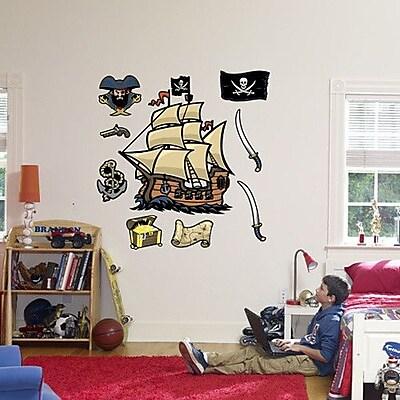 Fathead Pirates Wall Decal WYF078276589265