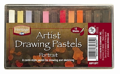 Alvin and Co. Portrait Drawing Pastels (Set of 12) WYF078276488482