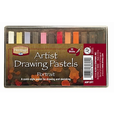 Alvin and Co. Portrait Drawing Pastels (Set of 12)