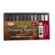 Alvin and Co. Graytone Drawing Pastels (Set of 12)