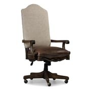 Hooker Furniture Rhapsody High-Back Leather Executive Chair with Arms