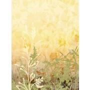4 Walls Modern Murals Wildflower Wall Mural; Golden