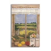 Stupell Industries Tuscan Kitchen Faux Window Scene Wall Plaque