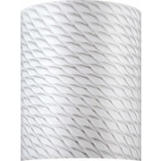 Volume Lighting 9'' Glass Drum Wall Sconce Shade