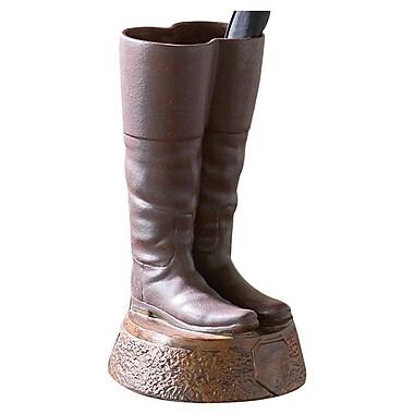 Global Views Ceramic Boots Umbrella Stand