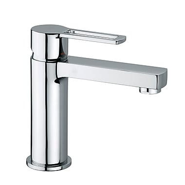 WS Bath Collections Ringo Single Hole Bathroom Faucet w/ Single Lever Handle