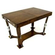 Spiderlegs Portable Folding Coffee Table; Dark Walnut