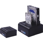 Tera Grand USB 3.0 HDD HOLDER, W/Power, Supports SATA 3.5'' & 2.5'' HDD, One touch back up