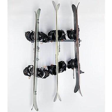 Monkey Bar 6 Snowboard Wall Mounted Rack