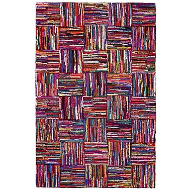 St. Croix Brilliant Ribbon Tiles Area Rug; 5' x 8'