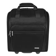 Travelon 14'' Wheeled Carry-On Suitcase; Black