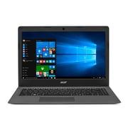 """Acer Aspire One AO1-431-C4XG Cloudbook Laptop, 14"""", 1.6GHz Intel Celeron N3050, 2GB RAM, 64GB eMMC, Windows 10, Bilingual"""