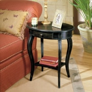 Butler Masterpiece Oval End Table; Brushed Sable