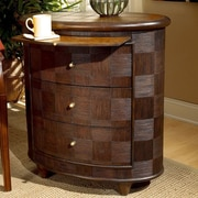 Butler Designer's Edge Rattan Oval 3 Drawer End Table