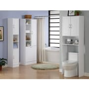 4D Concepts Storage and Organization 24.38'' W x 71.5'' H Over the Toilet Storage