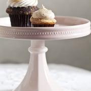 Rosanna Decor Bon Bon Hue Rimmed Pedestal Cake Stand; Pink