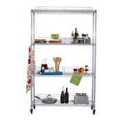 Trinity EcoStorage NSF 77'' H 3 Shelf Shelving Unit Starter