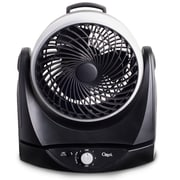 Ozeri Brezza II 10'' Dual Oscillating High Velocity Desk Fan