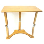 Spiderlegs Folding Laptop Desk/Tray Table; Golden Oak