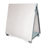 Triton Products LocBoard Aluminum Frame Tool Cart w/ Tray