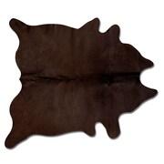 Natural Rugs Geneva Chocolate Solid Area Rug