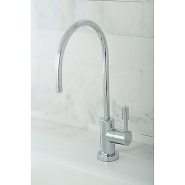 Kingston Brass Concord Gourmetier Water Filtration Kitchen Faucet; Polished Chrome