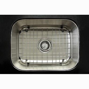 Kingston Brass Chicago 21.38'' x 17.75'' Gourmetier Single Bowl Undermount Kitchen Sink