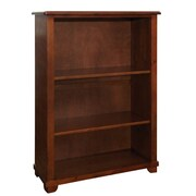 Bolton Furniture Woodridge 60''H Wood Bookcase with Two Adjustable Shelves
