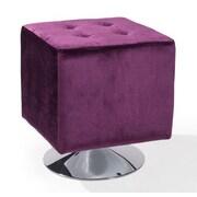 Armen Living Pica Ottoman; Purple
