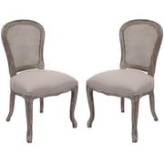 Safavieh Monica Side Chair (Set of 2); Espresso