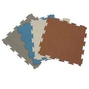 Rubber-Cal, Inc. Terra-Flex Interlocking Flooring Rubber Tile (Set of 10)