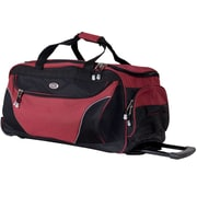 CalPak 29'' 2-Wheeled Carry-On Duffel; Deep Red