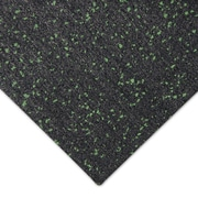 Rubber-Cal, Inc. ''Elephant Bark'' 108'' Recycled Rubber Flooring Roll